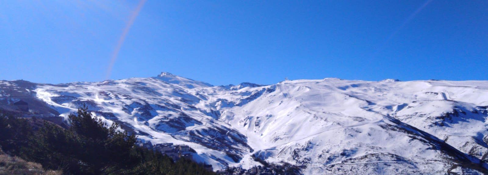 Skigebiet Sierra Nevada, Monachil, Andalusien, Spanien