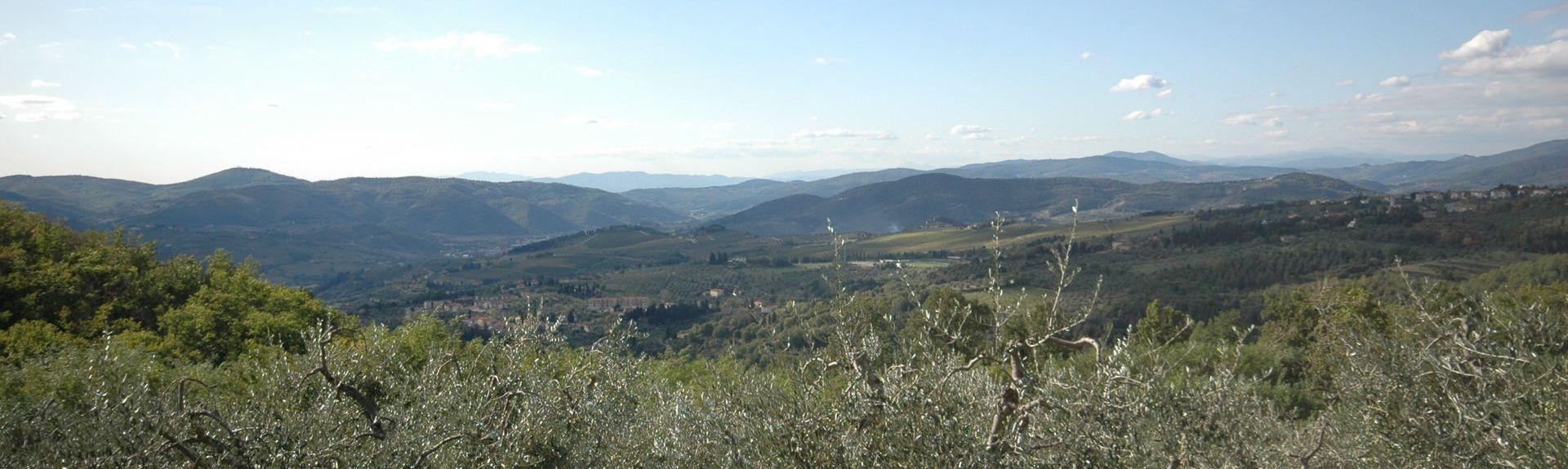 Mugello, Borgo San Lorenzo, Toskania, Włochy