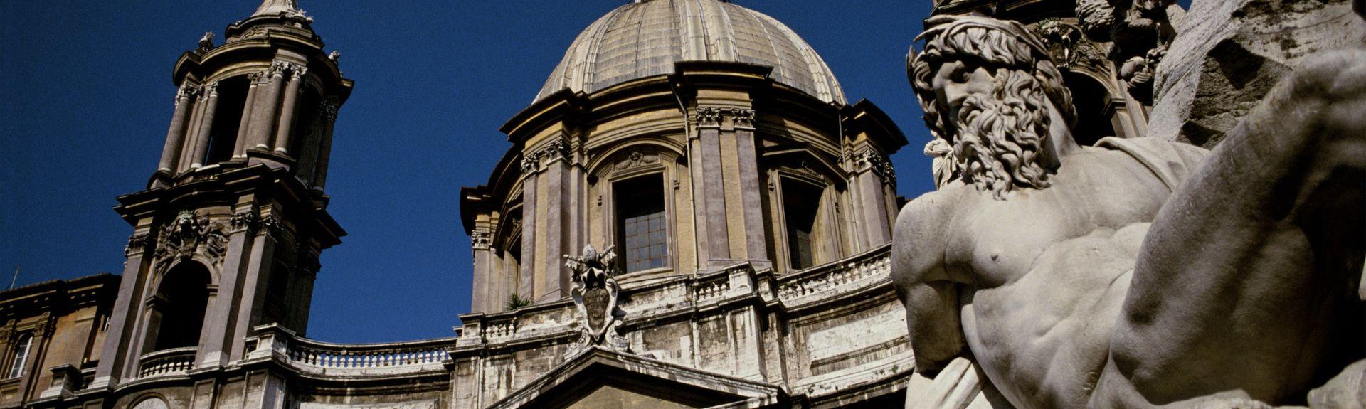 Centro de la ciudad de Roma, Roma, Lacio, Italia