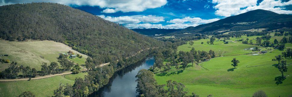 Vallée Huon, Tasmanie, Australie