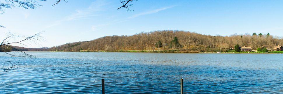 Lake Hope State Park, Zaleski State Forest, Ohio, USA