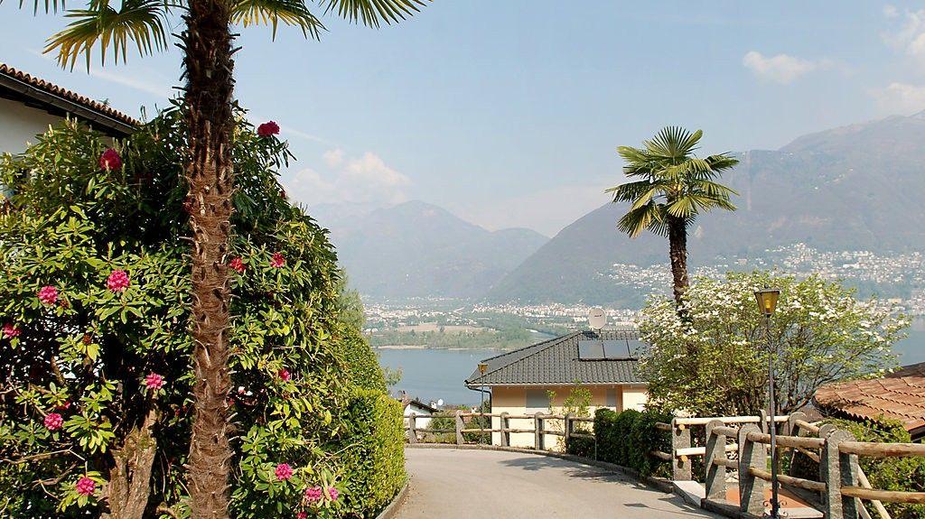 Brissago, Kanton Ticino, Schweiz