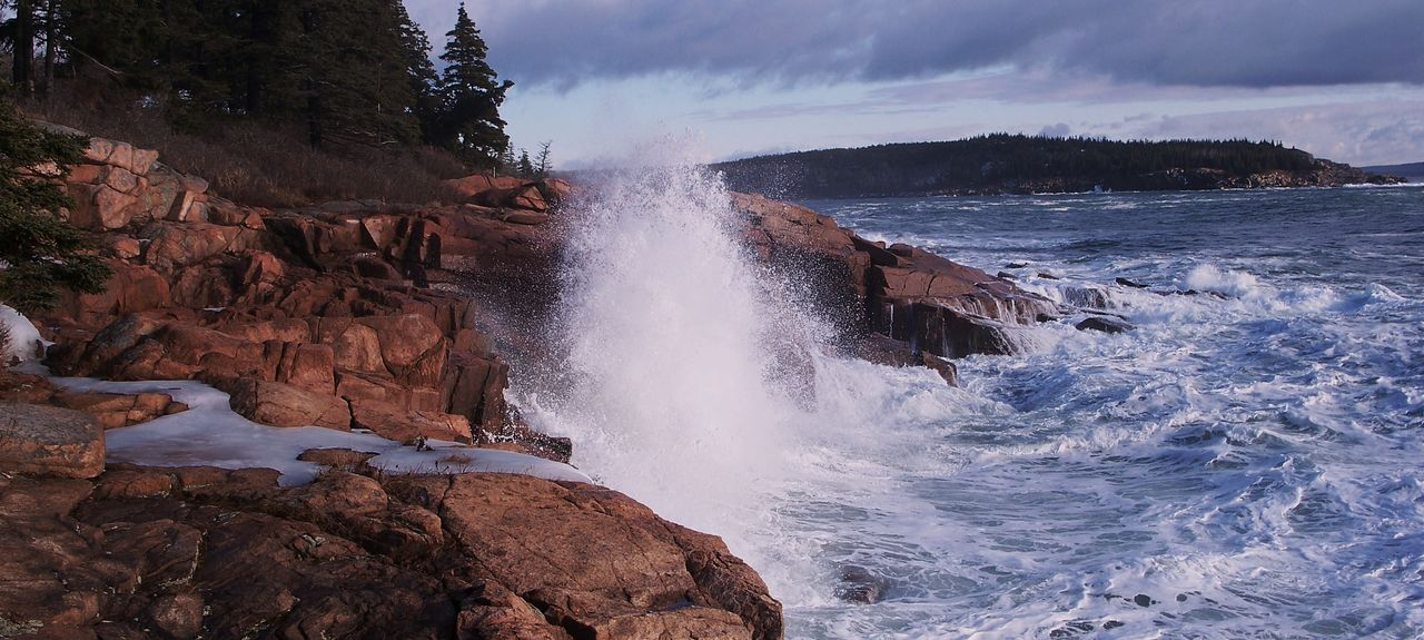 Hulls Cove, Bar Harbor, ME, USA