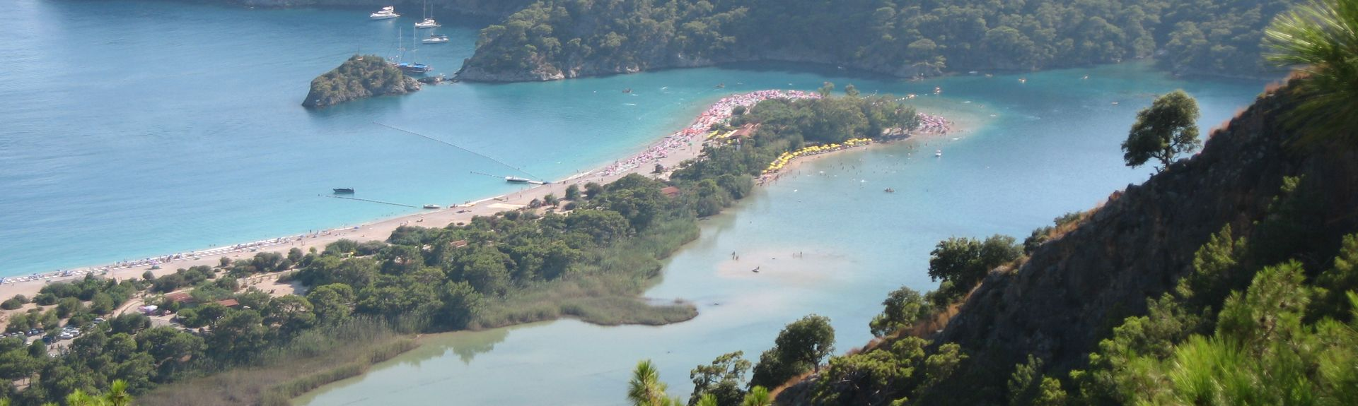 Calis Beach (Spiaggia), Distretto di Fethiye, Provincia di Muğla, Turchia