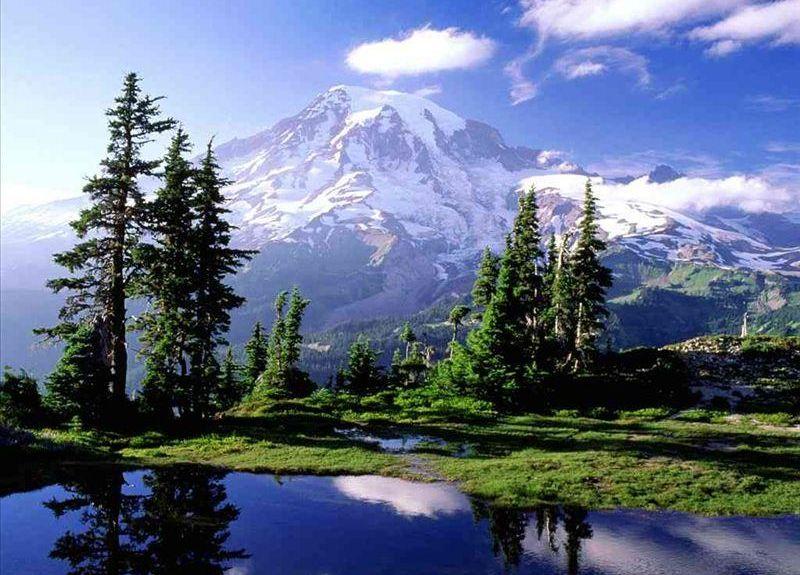 Crystal Mountain Ski Area, Enumclaw, WA, USA