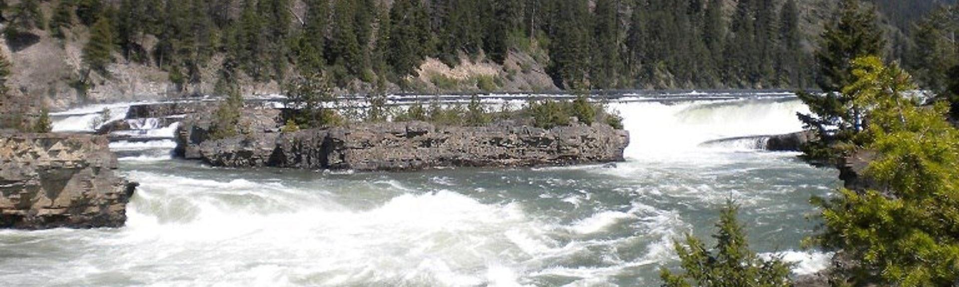 Cataratas de Kootenai, Troy, Montana, Estados Unidos