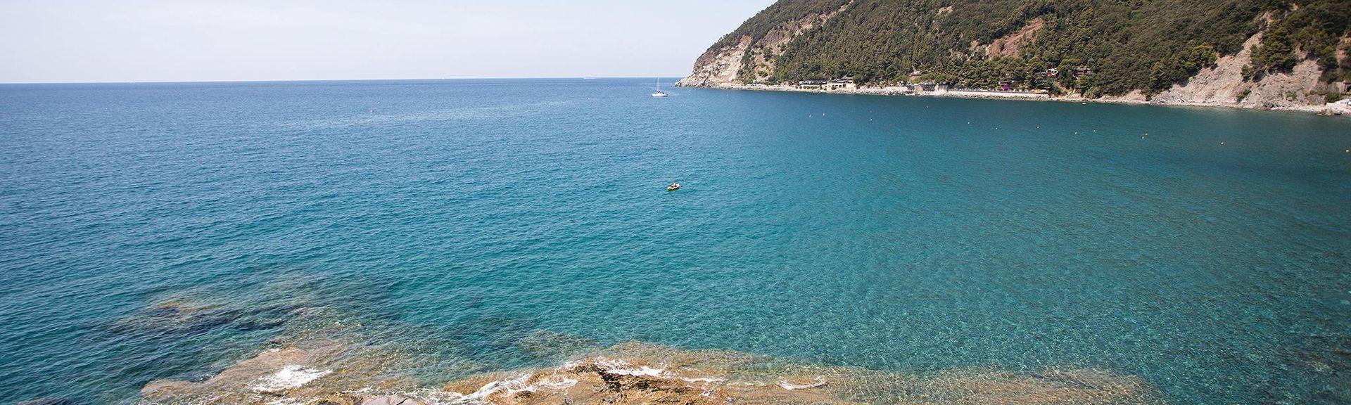 Bonassola Beach, Bonassola, Italy
