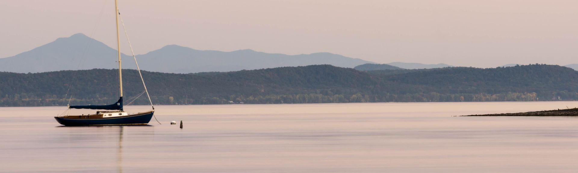 Lake Champlain Islands, Vermont, USA