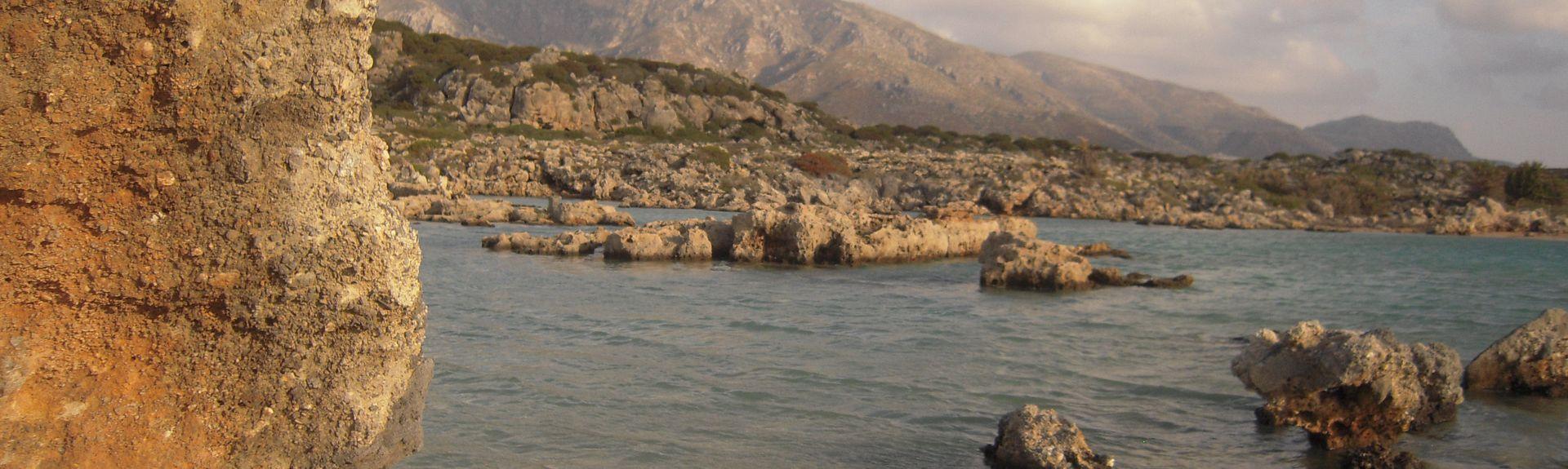 Sfinari, Kissamos, Kreta, Griechenland