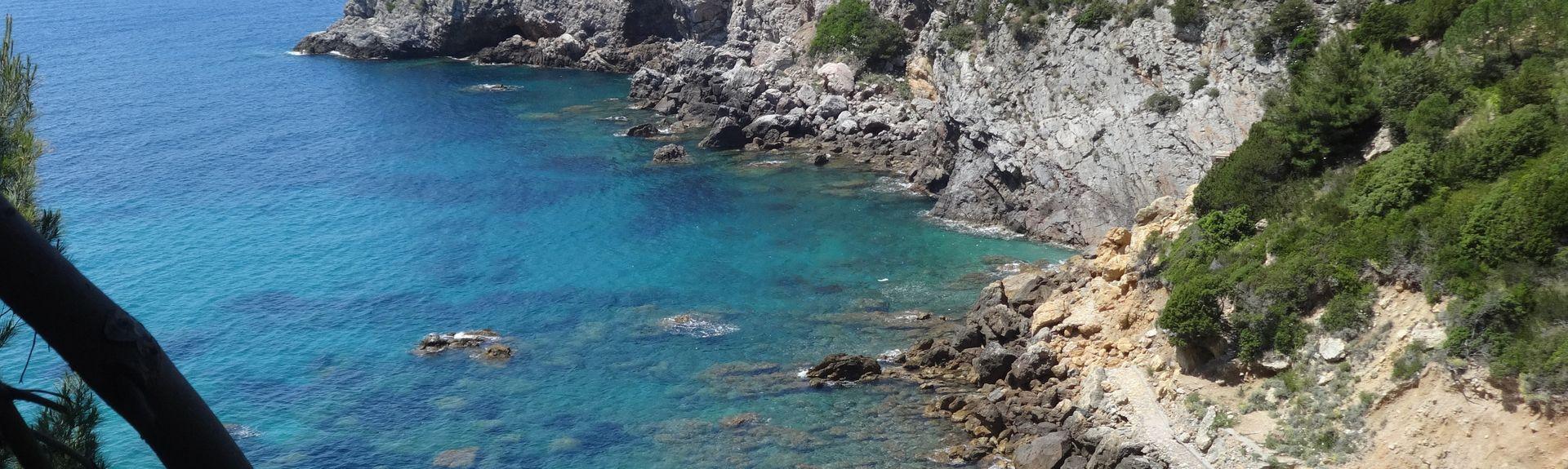 Oasis WWF du Lac de Burano, Capalbio, Toscane, Italie