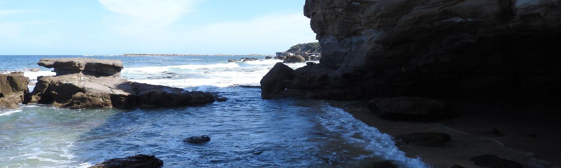 Caves Beach, Nieuw-Zuid-Wales, Australië