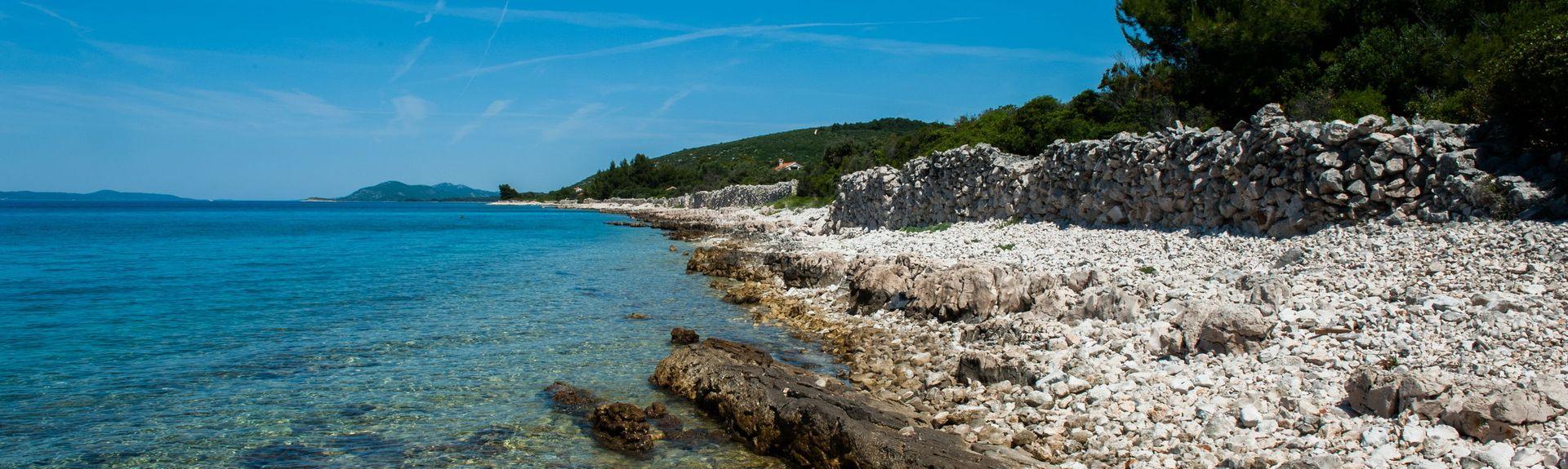 Parque natural Telascica, Sali, Zadar, Croacia