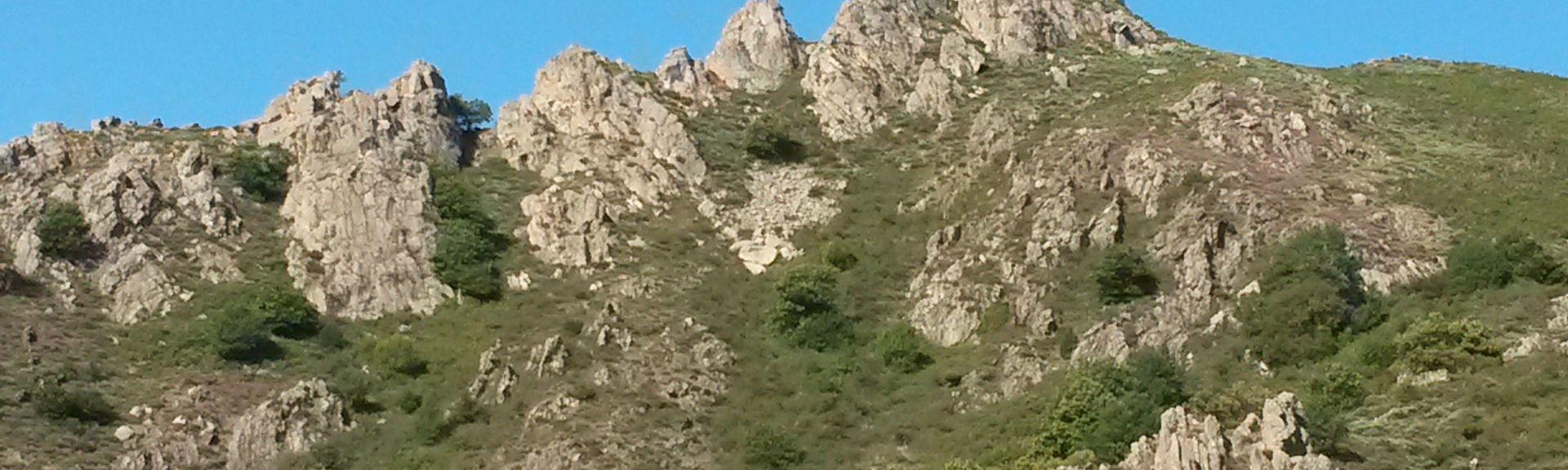 Saint-Cirgues-en-Montagne, Auvergne-Rhône-Alpes, Frankrijk