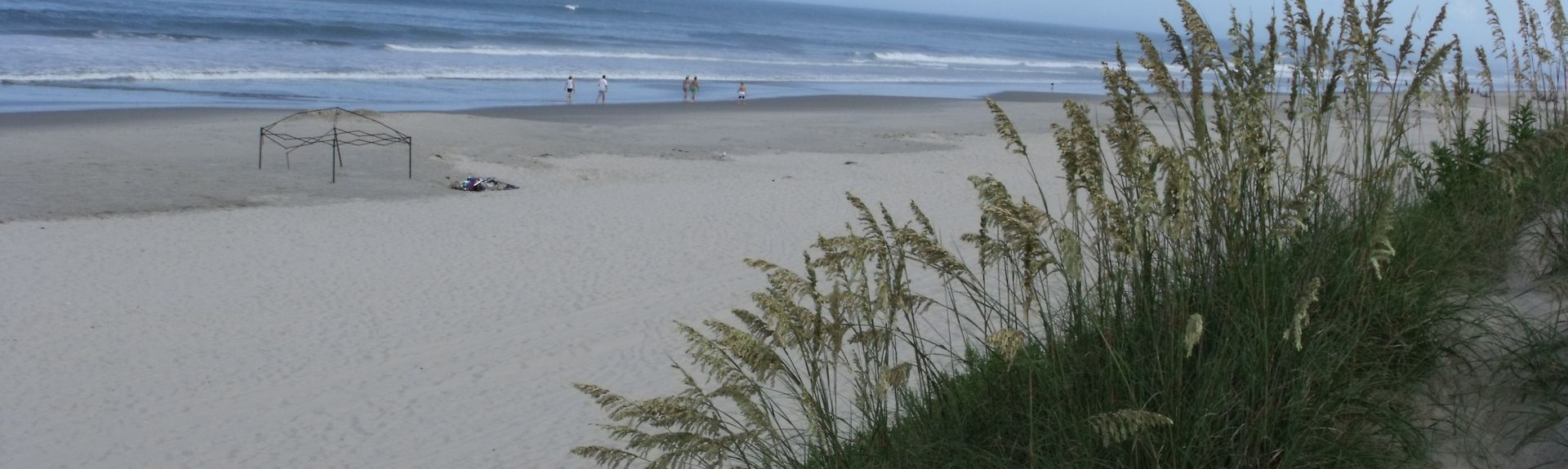 Praia de Currituck, Corolla, Carolina do Norte, Estados Unidos