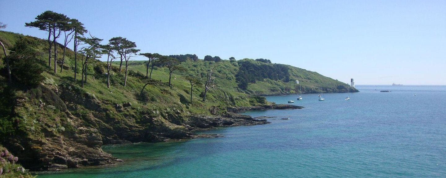 Maenporth Beach, Falmouth, England, UK