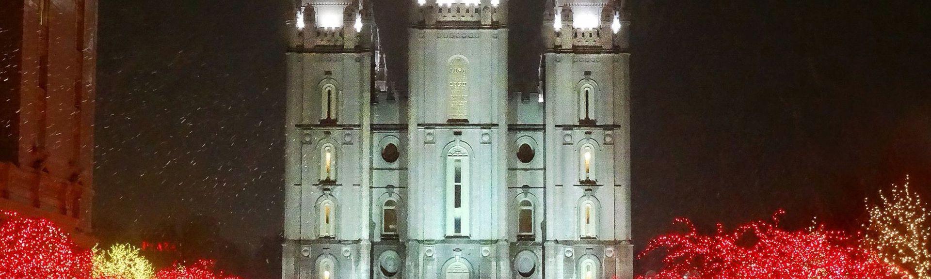 Temple Square, Salt Lake City, UT, USA