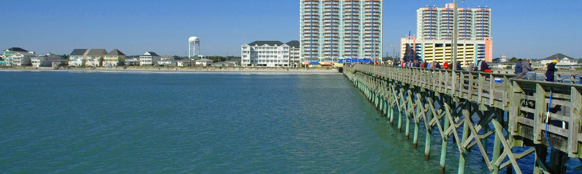 Cherry Grove Beach, North Myrtle Beach, Horry County, South Carolina, Verenigde Staten