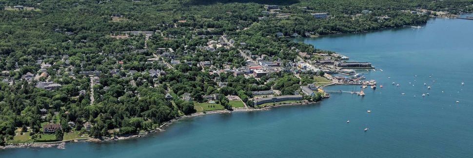 Hôtel de ville d'Ellsworth, Ellsworth, Maine, États-Unis d'Amérique