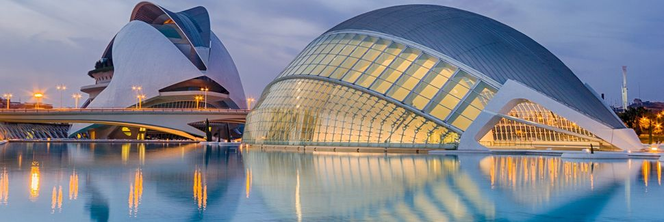 Ciutat de les Arts i les Ciències, València, Valencia, Spain