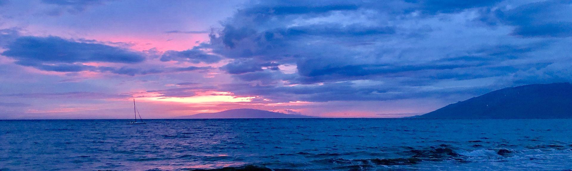 Kalama Beach Park, Kihei, Hawaii, United States of America