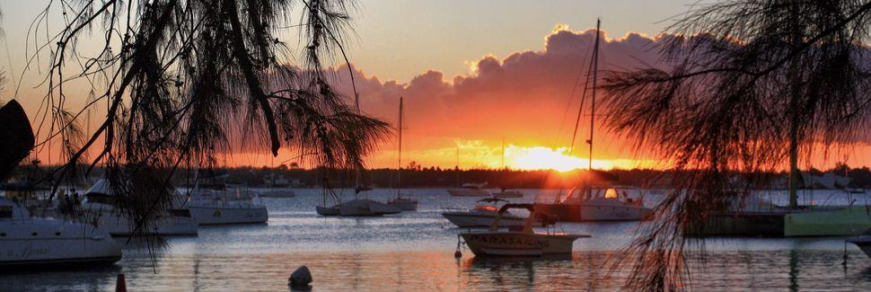Grand Bay kjøpesenter, Grand-Baie, Rivière du Rempart, Mauritius