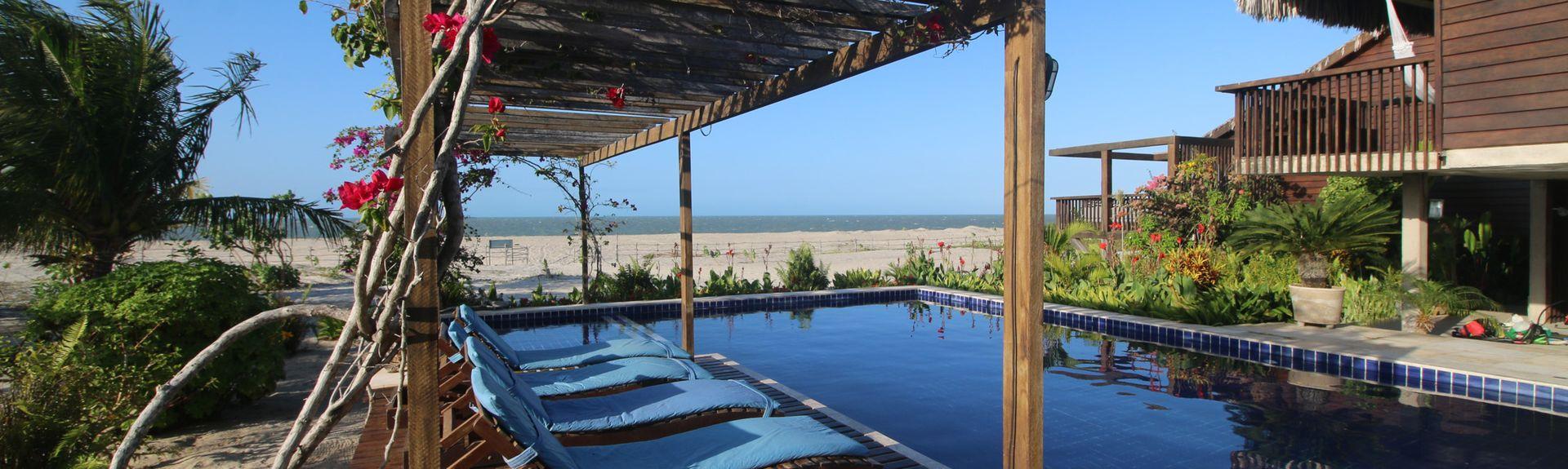 Playa Mangue Seco, Jericoacoara, Ceará, Brasil