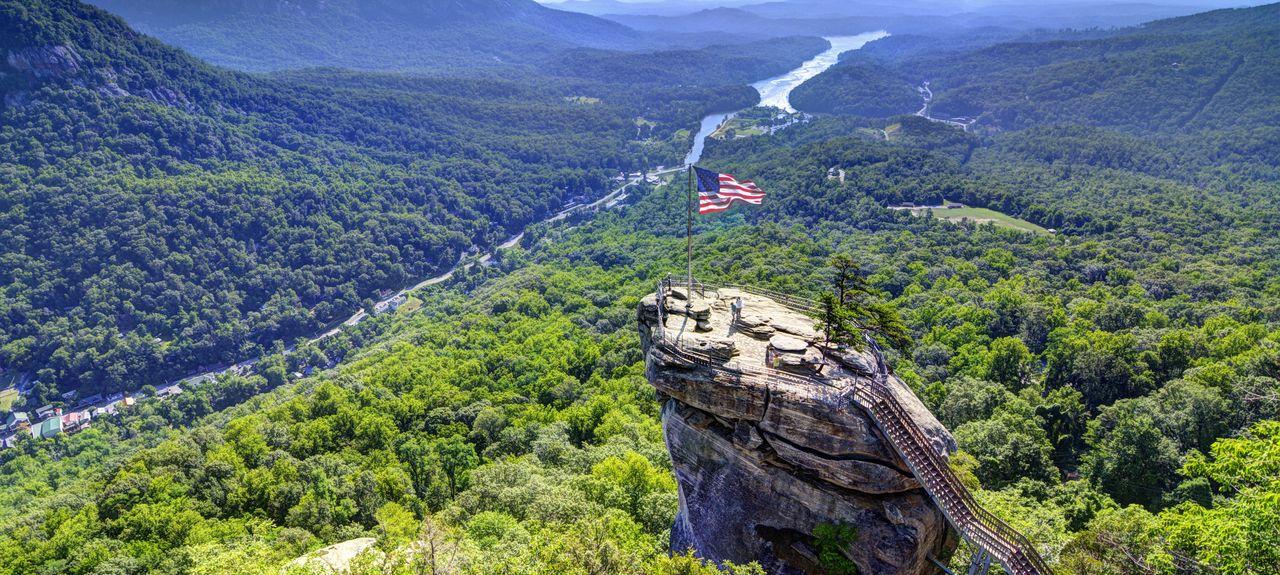 Blue Ridge Mountains, North Carolina, Verenigde Staten