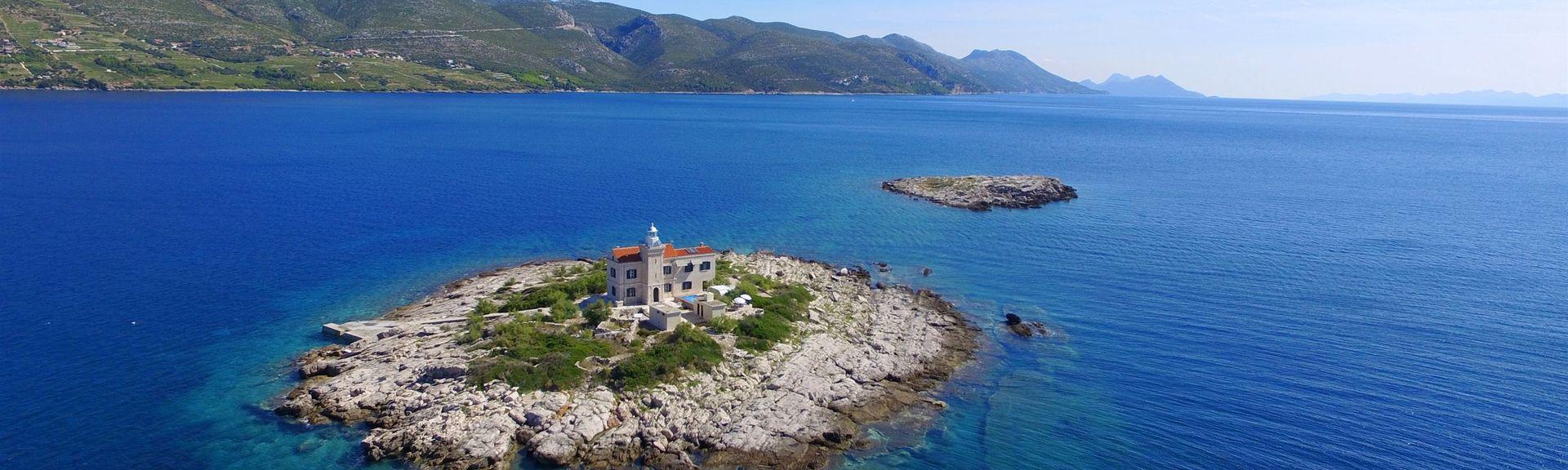 Račišće, Comitat de Dubrovnik-Neretva, Croatie