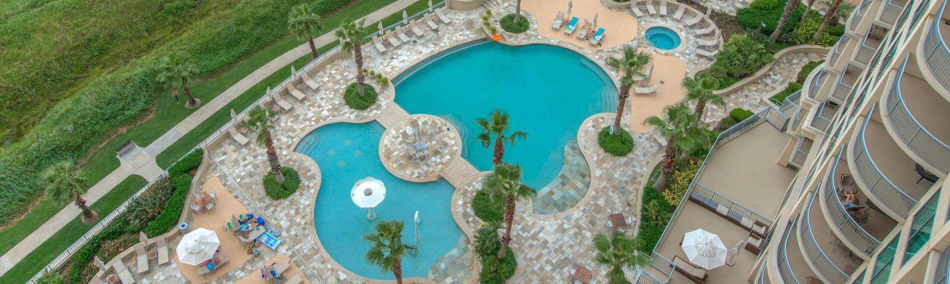 Palisade Palms, Beach Club (Galveston, Texas, Forente Stater)