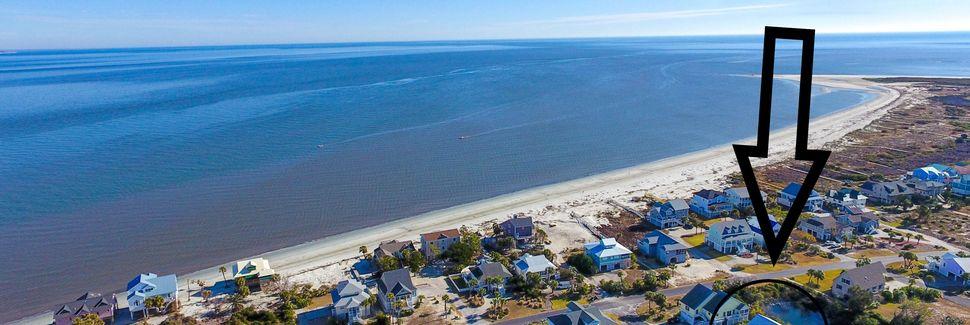 Beachwalk, Saint Helena Island, Caroline du Sud, États-Unis d'Amérique