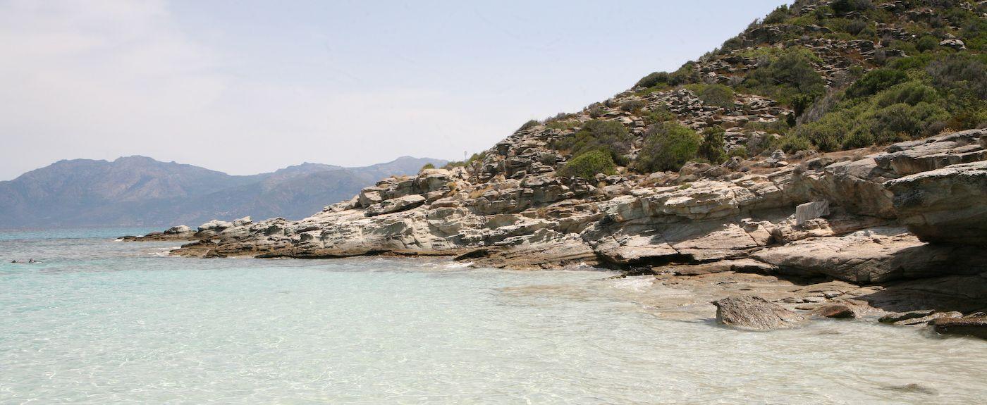 Plage Farinole, Haute-Corse, Corsica, France