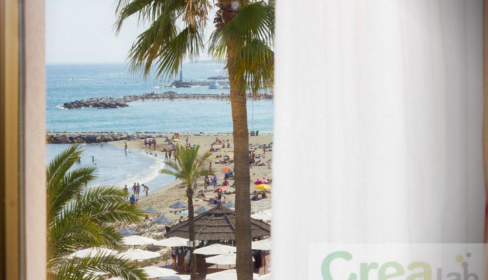 Calahonda-stranden, Marbella, Andalucía, Spania