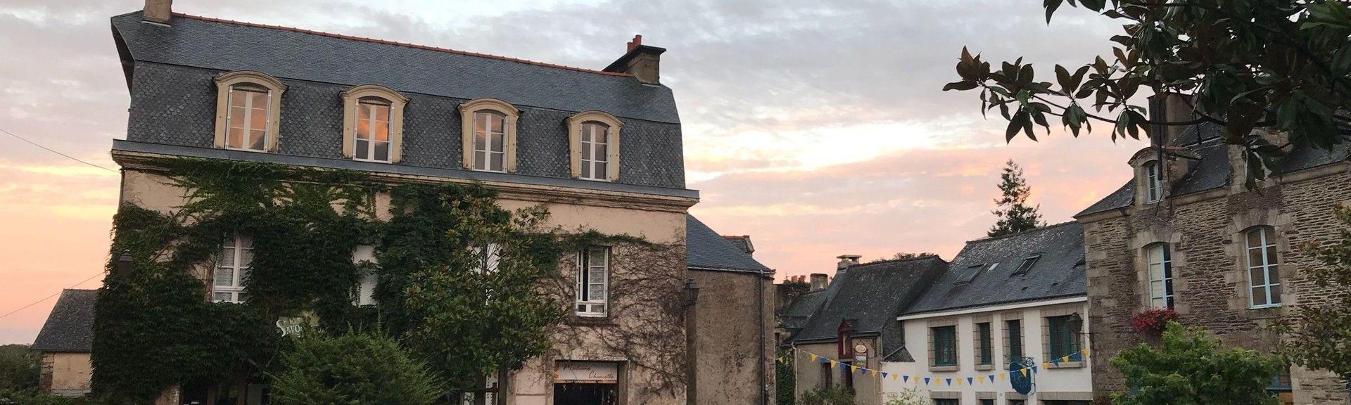 Rochefort-en-Terre Chateau, Rochefort-en-Terre, Morbihan, France