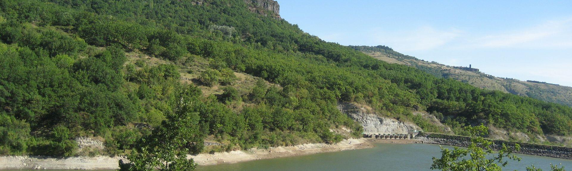 Saint-Laurent-sous-Coiron, Auvergne-Rhône-Alpes, Frankreich