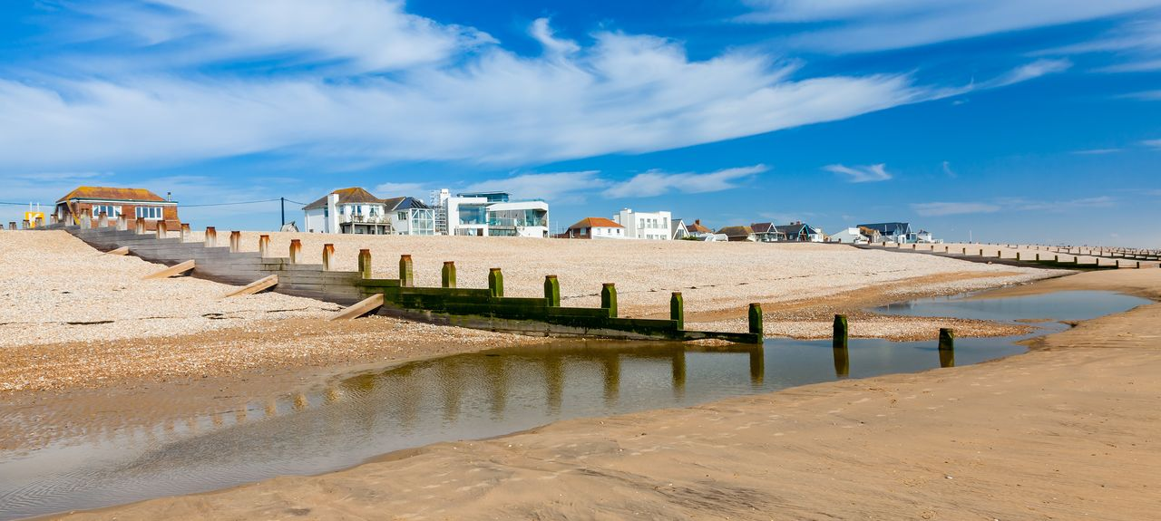 Camber Sands, Romney Marsh, England, United Kingdom