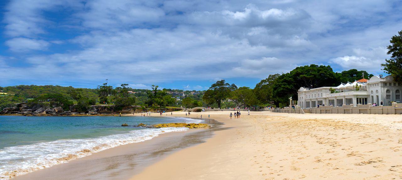 Balmoral Beach, Mosman, New South Wales, AU
