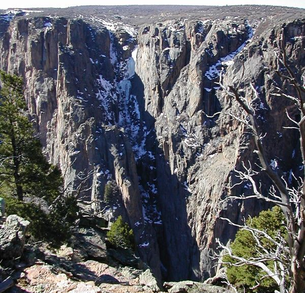 Black Canyon of the Gunnison National Park, Montrose, CO, USA