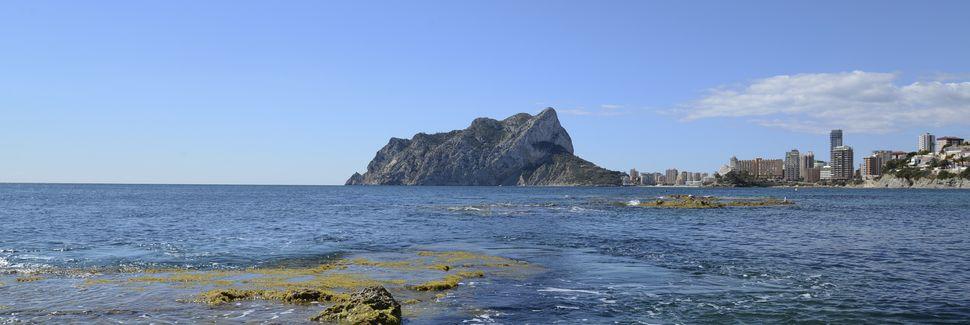 Playa de la Fossa, Calp, Land Valencia, Spanien