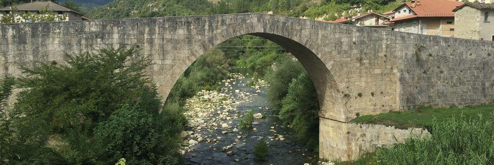 Acquasanta Terme, Marche, Italia