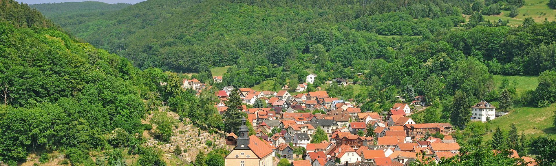 Oberhof, Thüringen, Deutschland