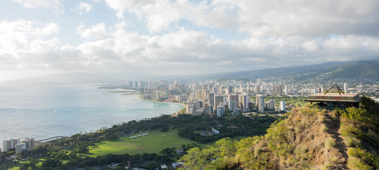 Diamond Head State Monument, Honolulu, HI, USA