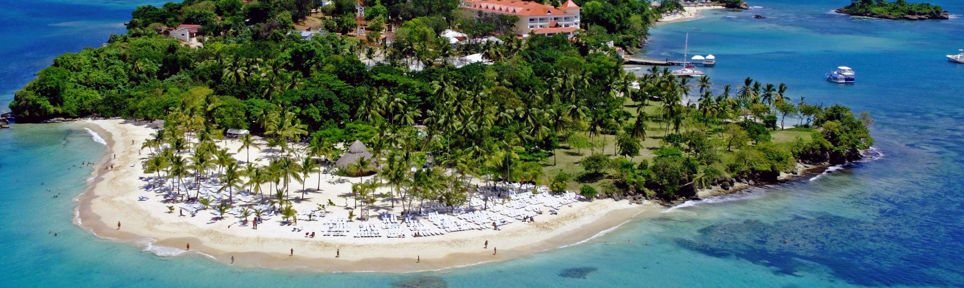 La Playita Beach, Las Galeras, Samana (province), Dominican Republic