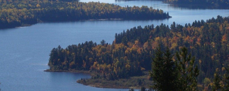 Posto de Turismo do Parque Nacional de La Mauricie, Quebec, Canadá