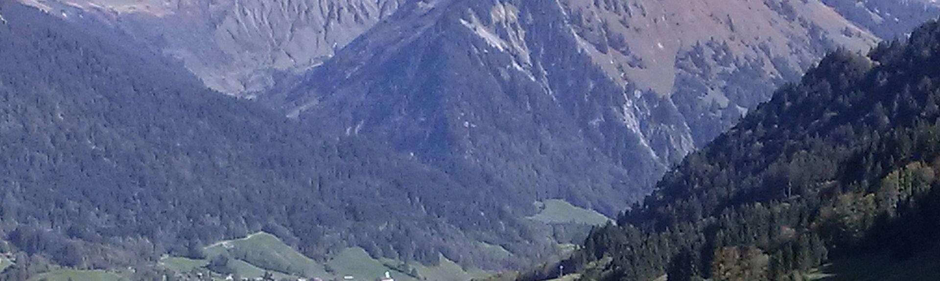 Bahnhof Schruns, Schruns, Vorarlberg, Österreich