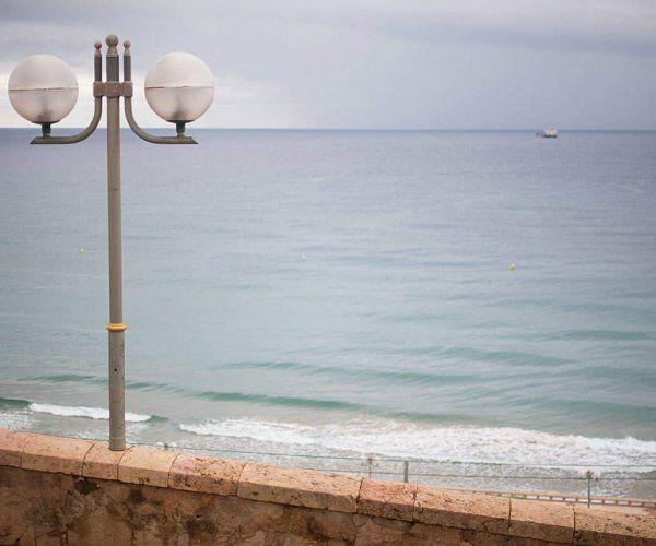 Strand van Cambrils, Cambrils, Catalonië, Spanje
