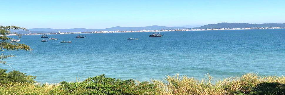 Ponta das Canas, Florianopolis, Santa Catarina, Brazilië