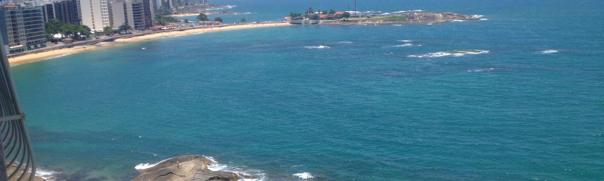 Adventistas Beach, Guarapari, Bundesstaat Espírito Santo, Brasilien