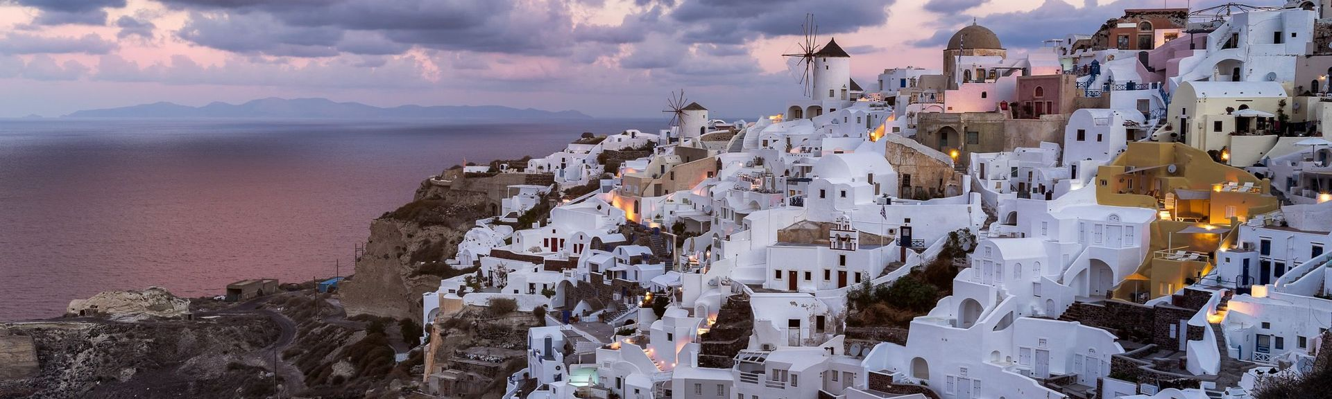 Oia Castle, Santorini, South Aegean, Greece