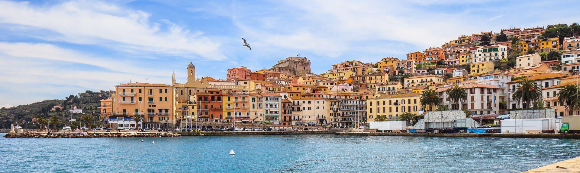 Porto Santo Stefano, Toscana, Italien
