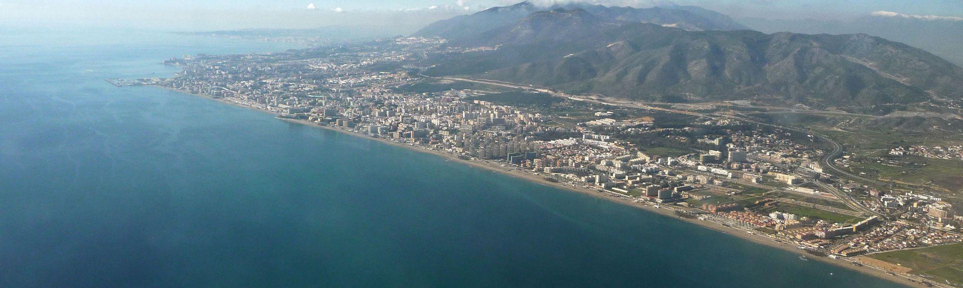Malagas hamn, Málaga, Andalusien, Spanien